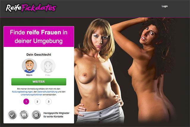 ReifeFickdates.com ist ein FIckportal für reife Frauen