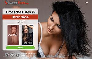 CasualFever.com Sexdate-Seite