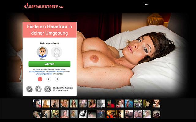 HausfrauenTreff.com ist ein neues Sex Portal