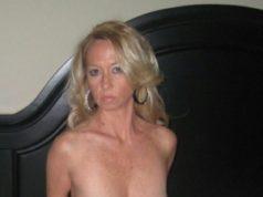 Eine reife Blondine sucht einen heißen Seitensprung