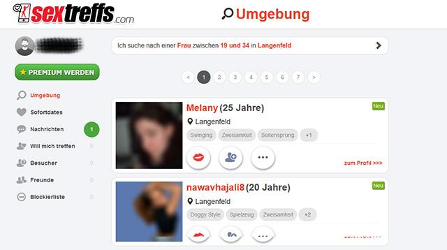 Sextreffs.com Member Area