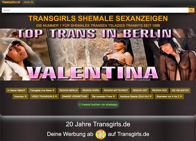 Transgirls.de Startseite