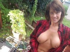 Reife Bremerin hat Lust auf Outdoor Sex