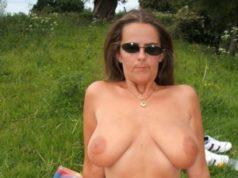 Reife Frau sucht geilen Outdoor Sex mit Naturfreak